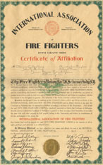 A History of Firefighter Unions - Marin Professional